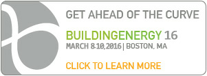 Building Energy 16 Conference  in Boston